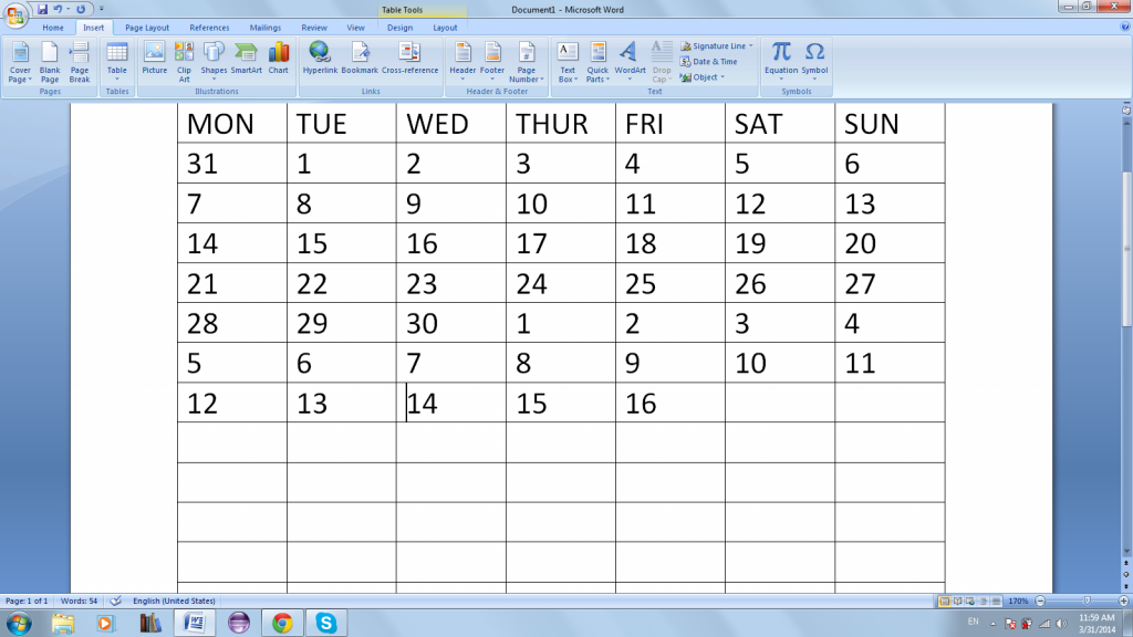 how to make msword auto fill cells with days of week what happened to the calendar wizard in word