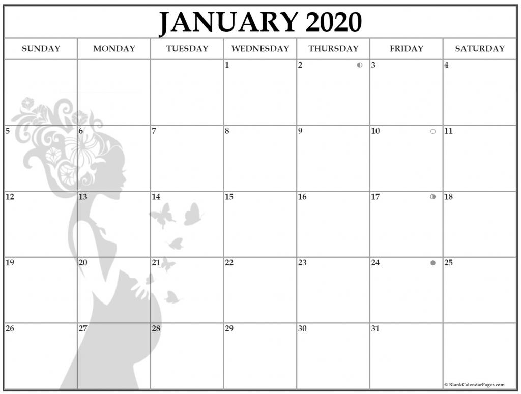january 2020 pregnancy calendar fertility calendar ovulation calendar 2020