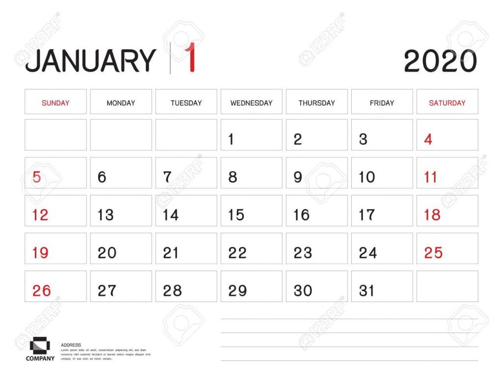 january 2020 year template calendar 2020 desk calendar design 6 week calendar 2020