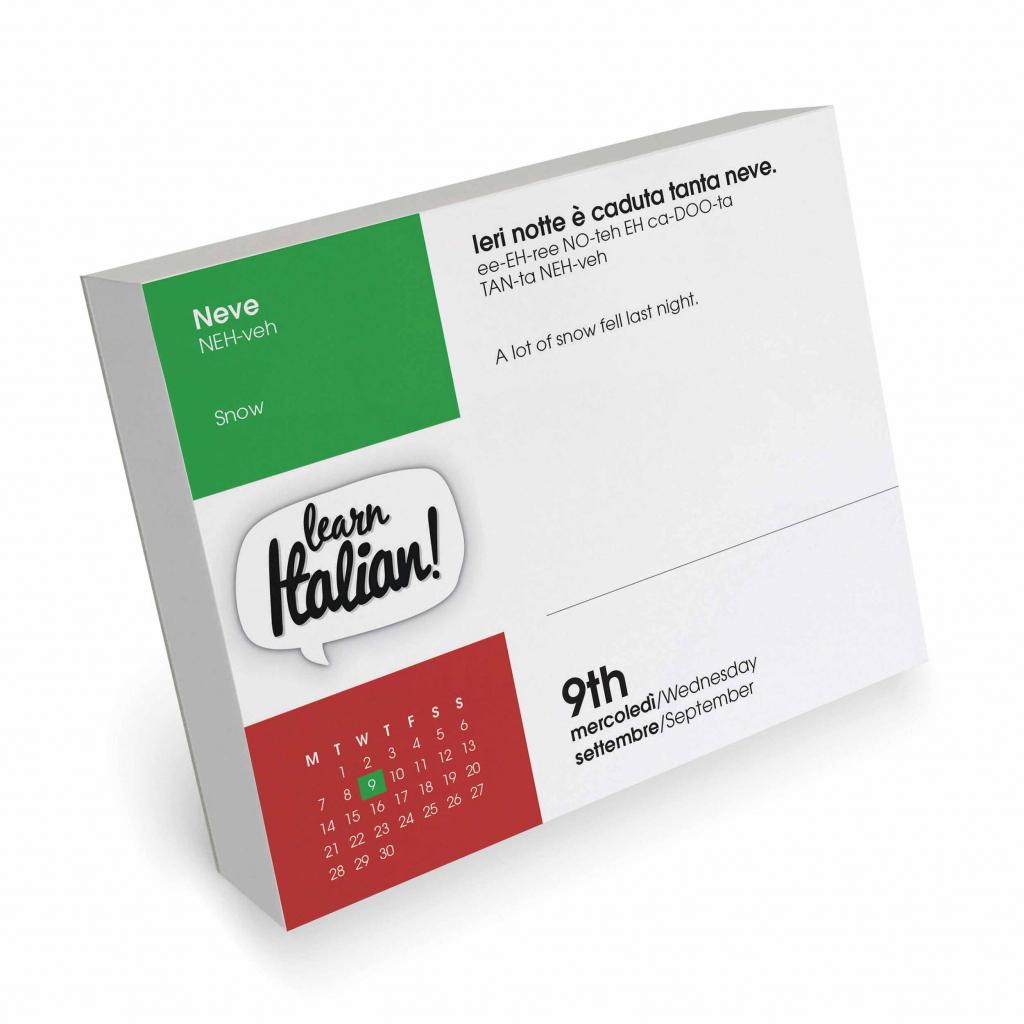 learn italian desk calendar 2020 giorno 136 in calendar 2