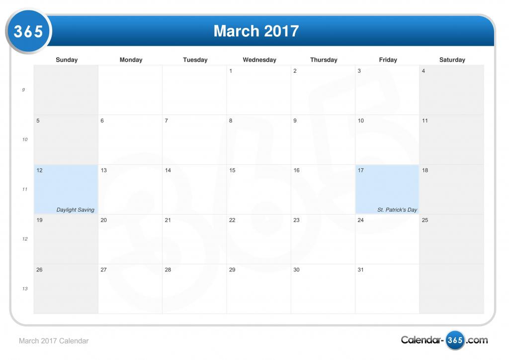 march 2017 calendar 1117 calendar