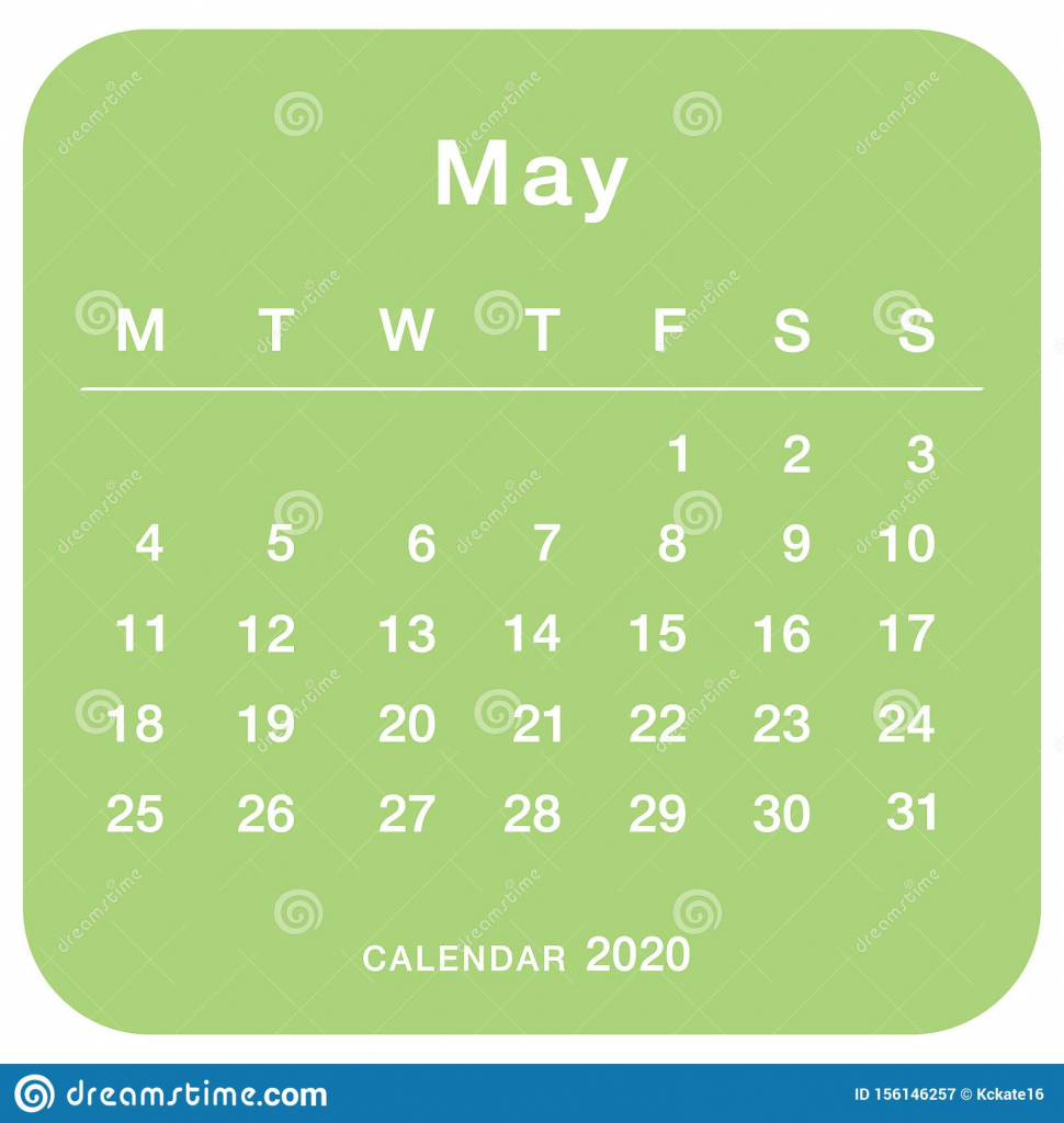 may 2020 planning calendar simple may 2020 calendar stock 8 by 11 5 printable calendar for october 2020
