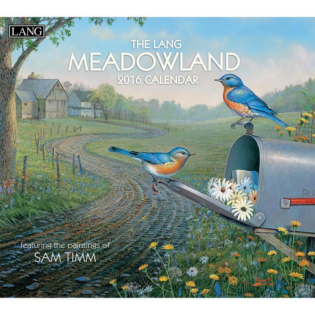 Meadowland 2019 Wall Calendar Meadowlands Calendar