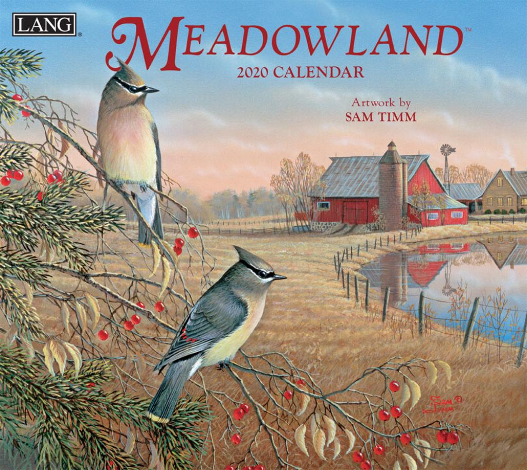 meadowland 2020 wall calendar meadowlands calendar