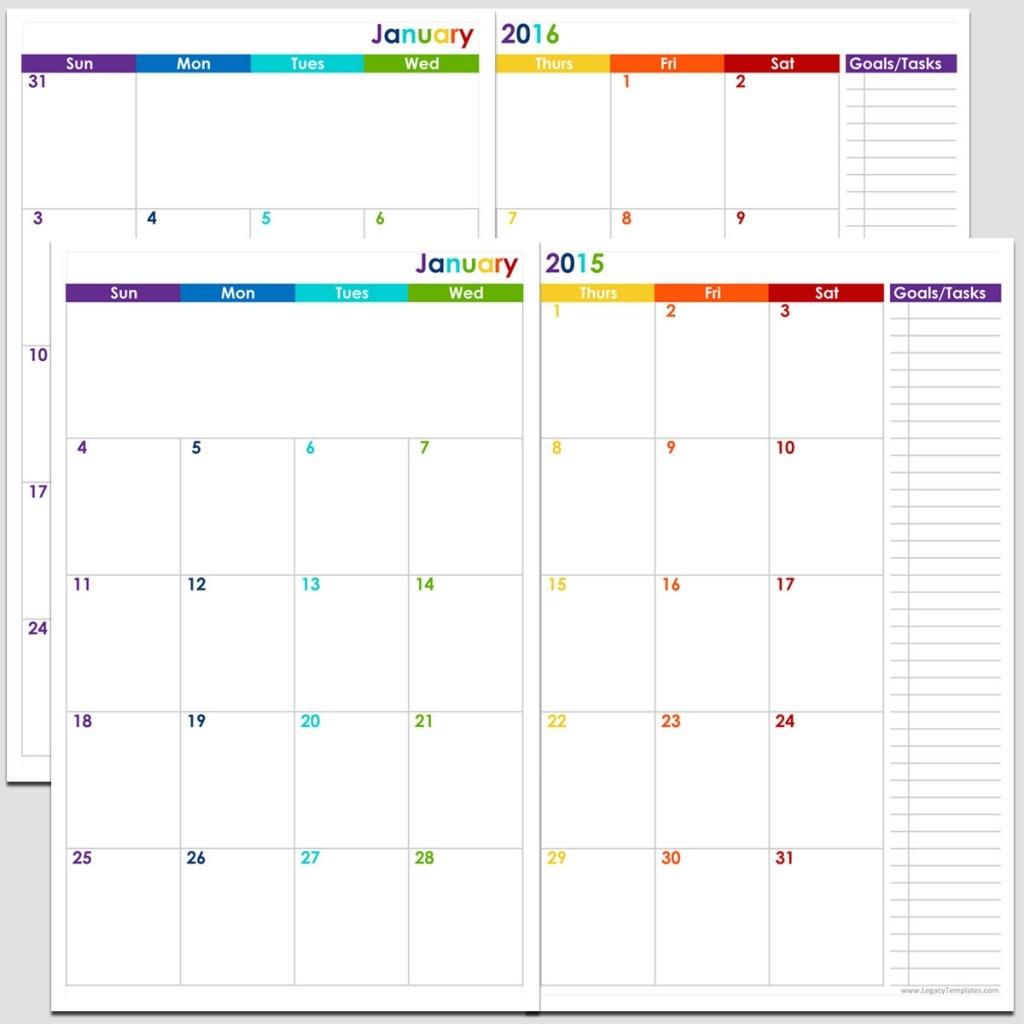 Printable Calendar 5 5 X 8 5 Printable Calendar 2019 5 X 8  Free Blank Printable Calendars