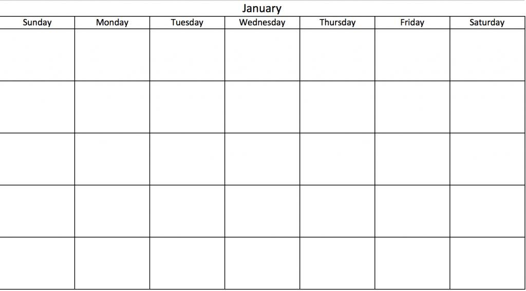 printable calendar days of the week printable calendar 2020 printable calendar days of the week