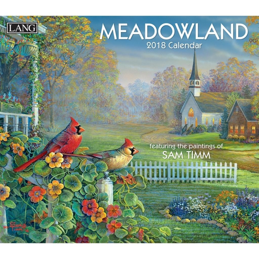sam timm meadowland 2018 wall calendar calendars books gifts meadowlands calendar