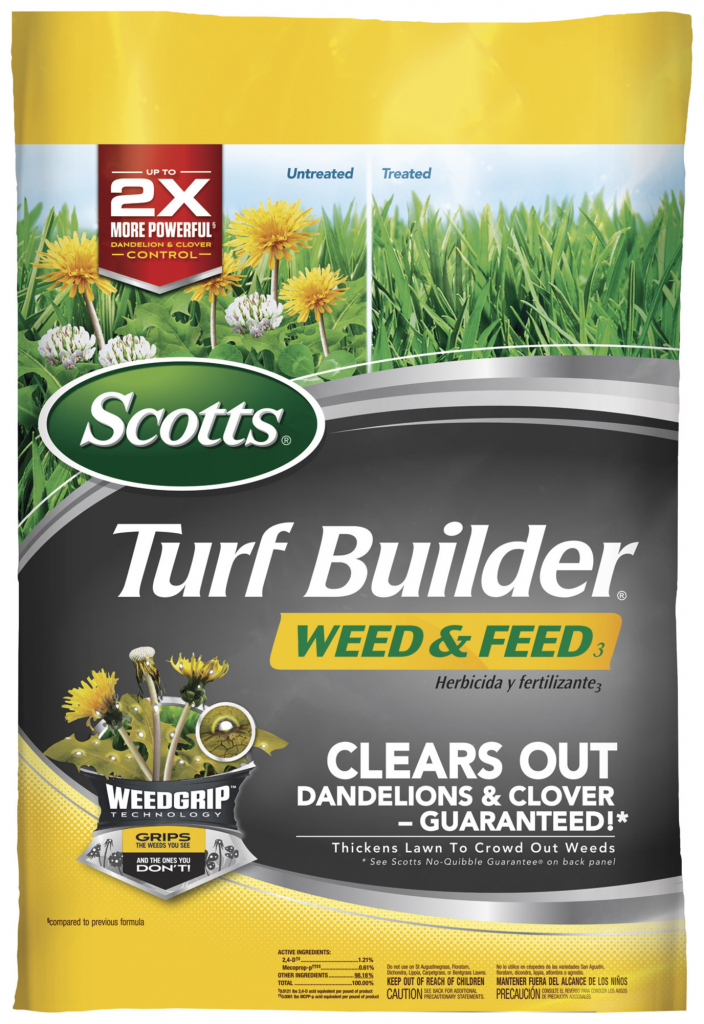 scotts turf builder weed feed scotts lawn care schedule for southern lawns