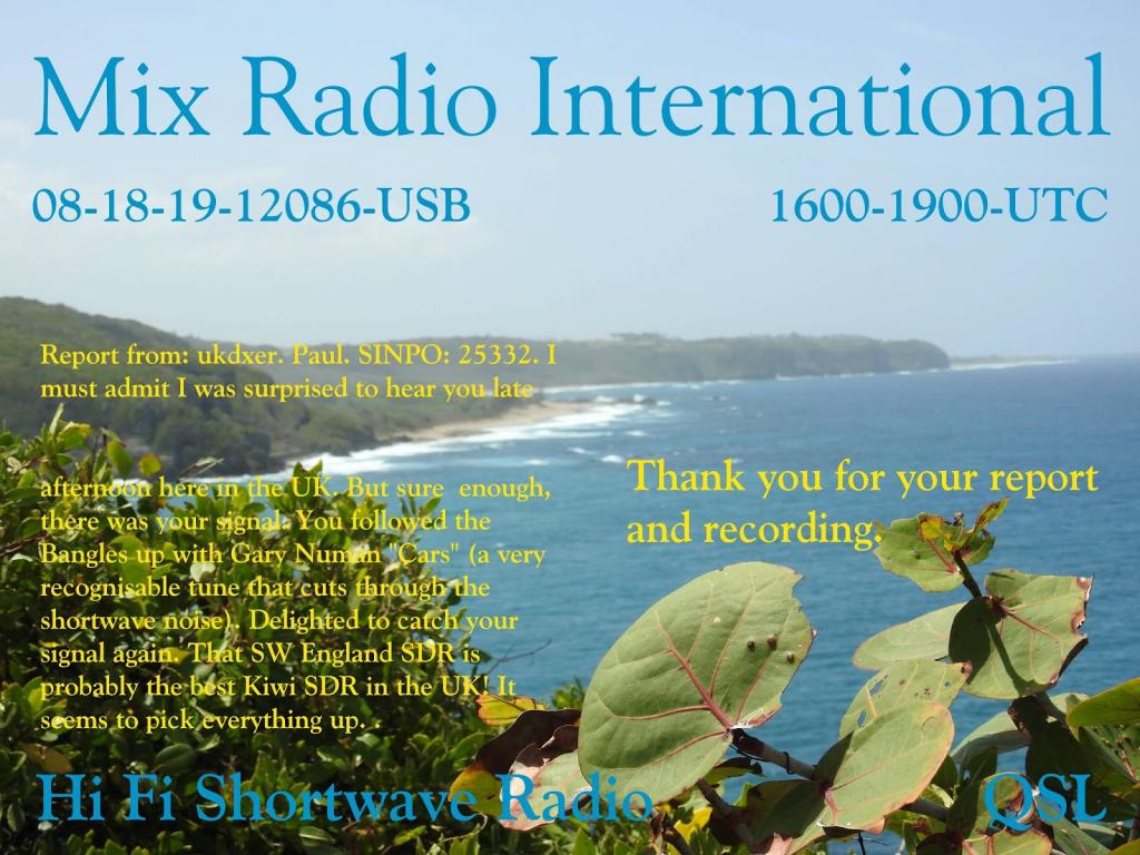 shortwave dx blog 2019 ham radio contest october 2109 1