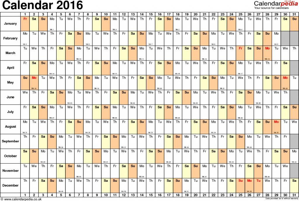 template 6 yearly calendar 2016 as pdf template landscape 6 week bank printable calendars