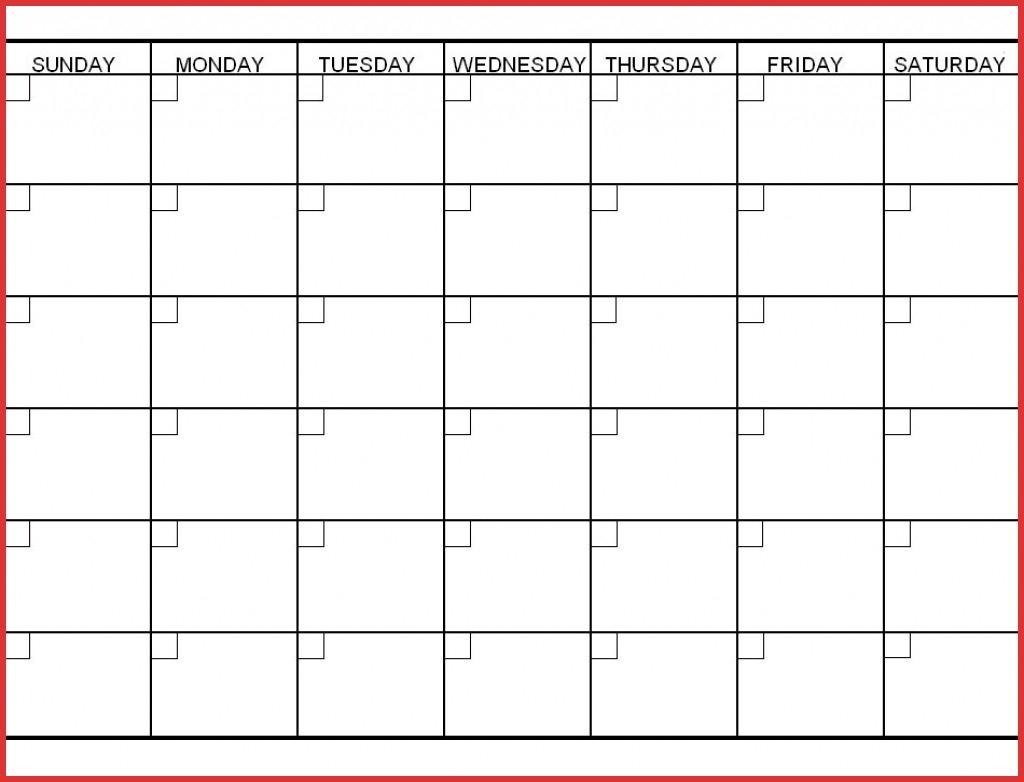 unique 6 week printable calendar job latter 6 week blank calanedar schedule