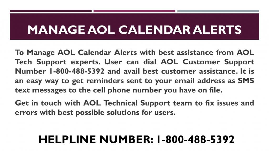 1 800 488 5392 manage aol calendar alerts pubhtml5 aol calendar 1