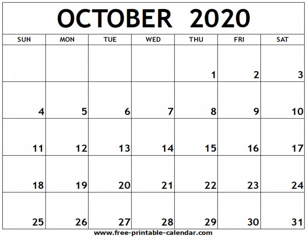 2020 october calendar tekewpartco monday to friday 2020 october calendar