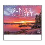 2020 Sunrise Sunset Calendar 11 X 19 Imprinted Spiral Sunrise Sunset Calendar 2020