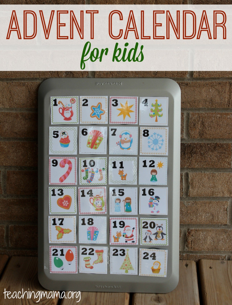 Advent Calendar At Make Your Own Calendar For Kids Free Make Your Own Kids Calendar Free