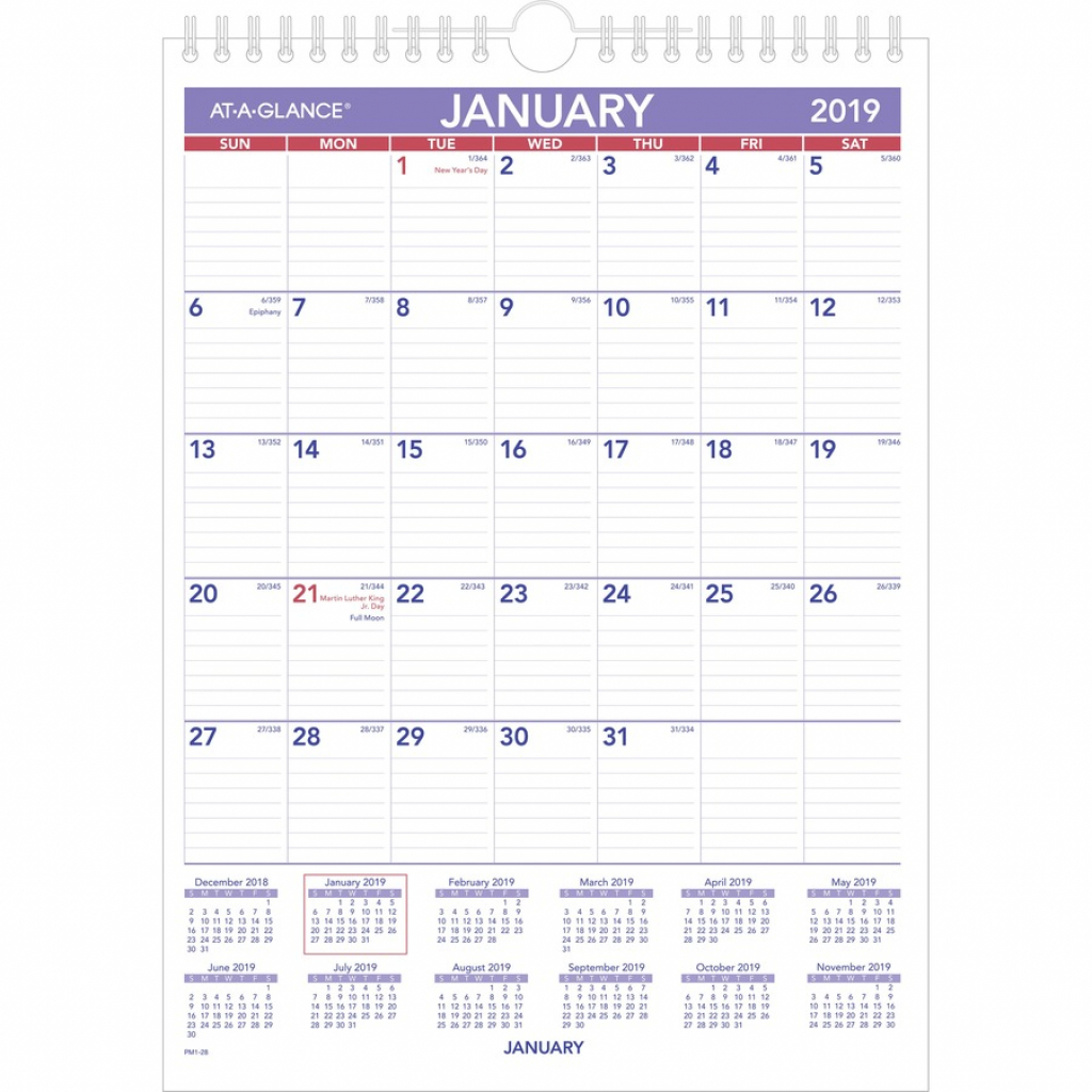 at a glance recycled monthly wall calendar yes monthly 1 year january 2020 till december 2020 1 month single page layout 8 x 11 wire calendar template for 11 by 17 paper