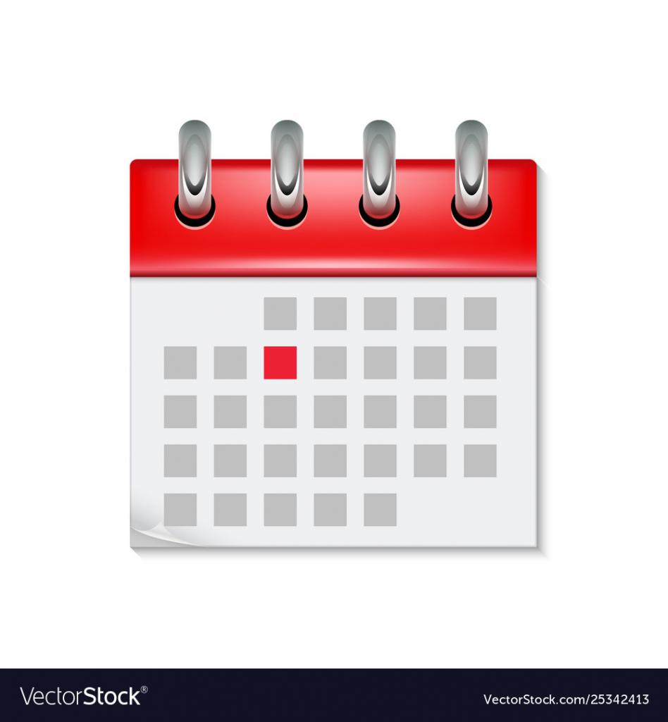 calendar icon with month time symbol flat agenda calander date time location agenda