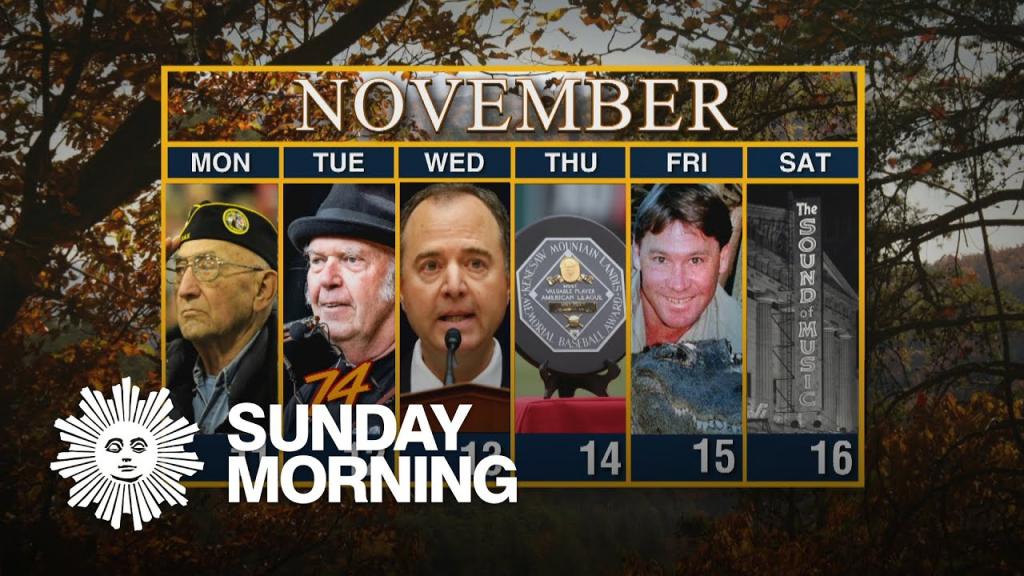 calendar week of november 11 cbs weekly calendar