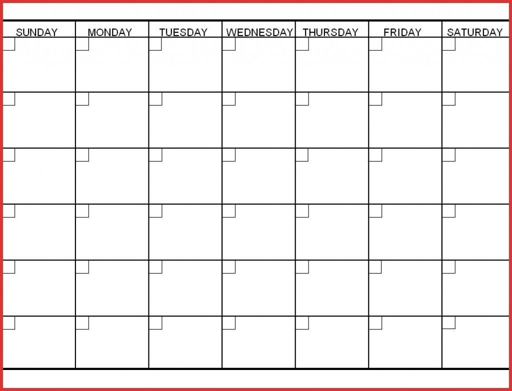 Dandy Printable Calendar 6 Week Mini Calendar Template 6 Week Printabel Schedule