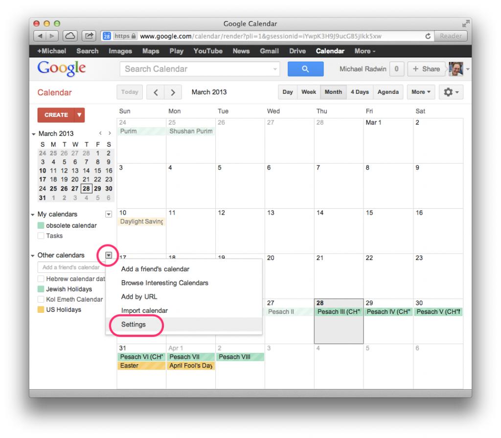 download google calendar hebcal jewish calendar 2020 ics