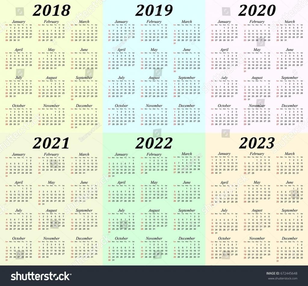 exemplary 5 year calendar printable mini calendar template 5 yea calender