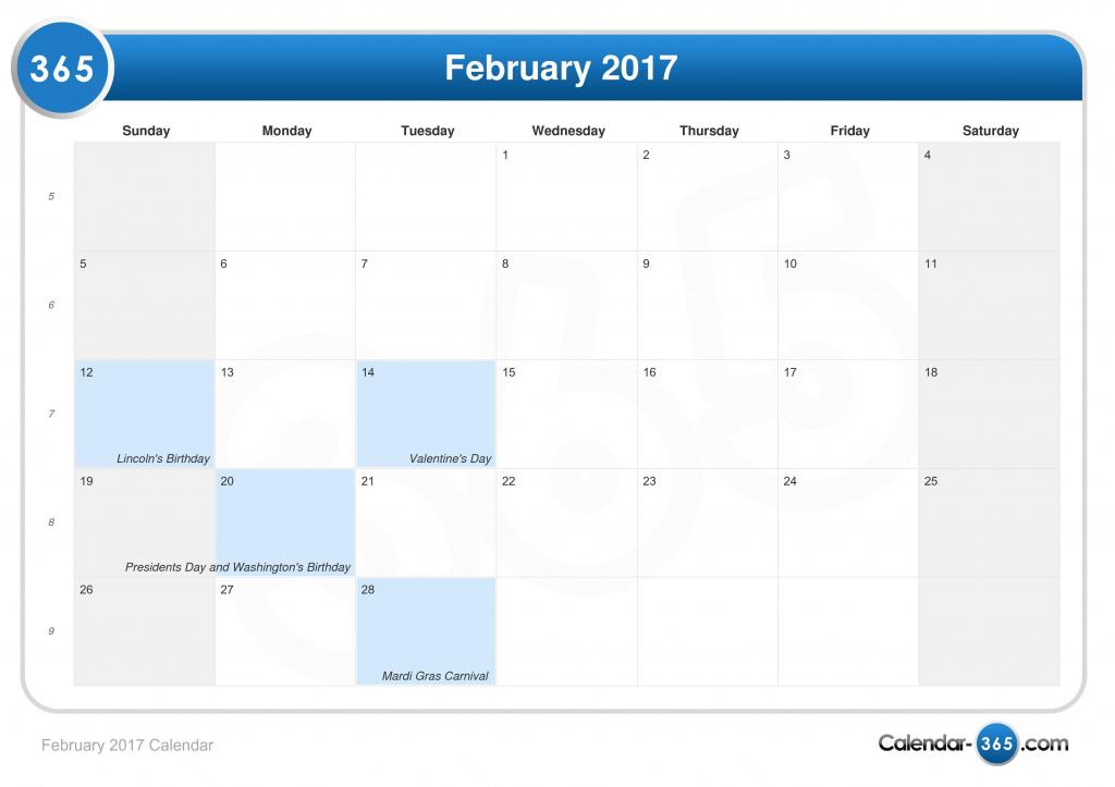 february 2017 calendar 11 by 17 calendar