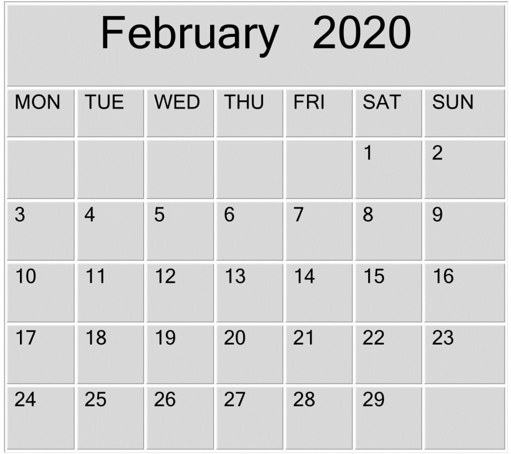 february 2020 blank calendar word excel template free yahoo free printable calendar 2020 that you can type in