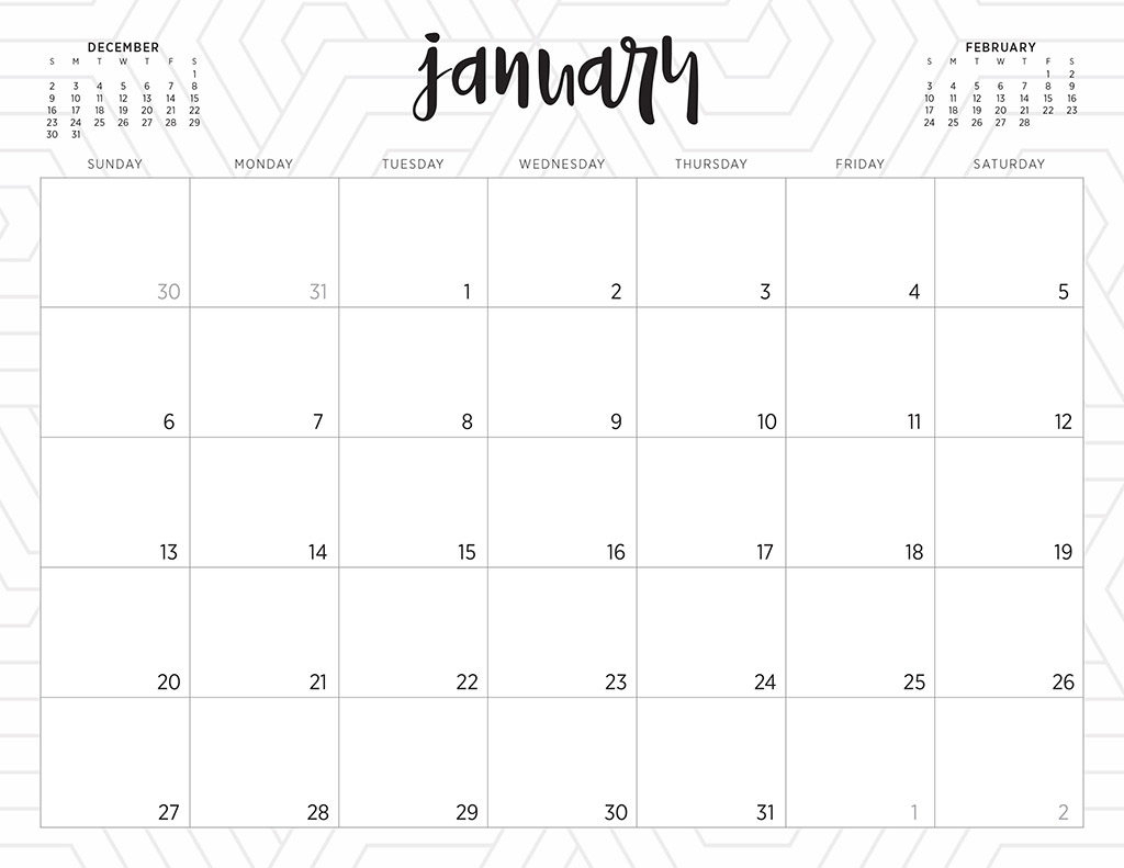 free 2019 printable calendars 46 designs to choose from printable calendar numbers to download for teachers