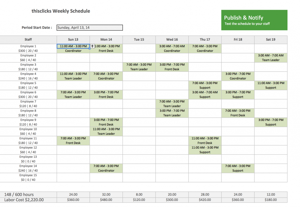 free excel template for employee scheduling when i work calender template that has hours