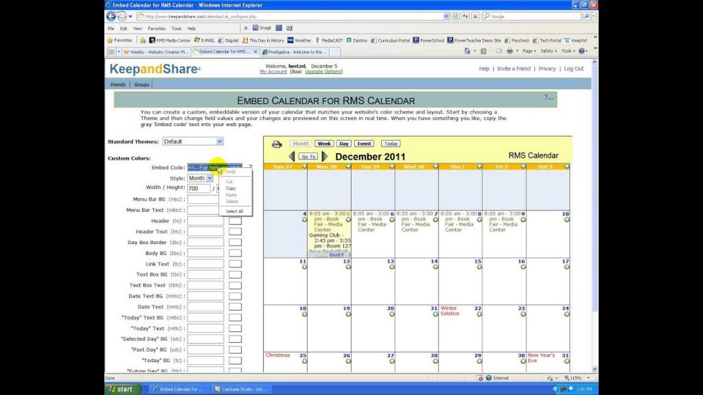 keep and share calendar keep and share calendar login
