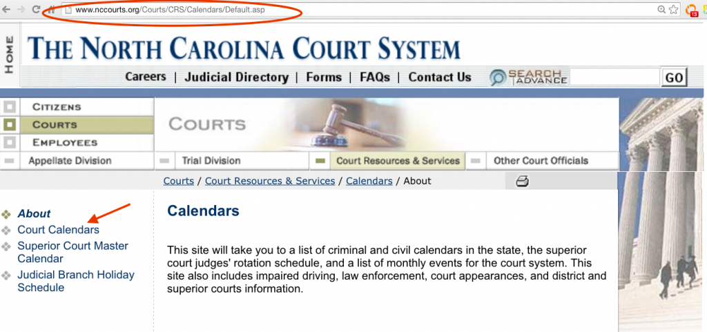 nc court calendar nc district and superior court calendar nc court calendars district and superior