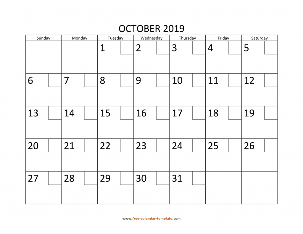 october 2019 free calendar tempplate free calendar 2020 microsoft word calendar wizard template