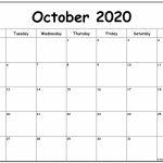 October 2020 Monday Calendar Monday To Sunday Monday To Friday 2020 October Calendar