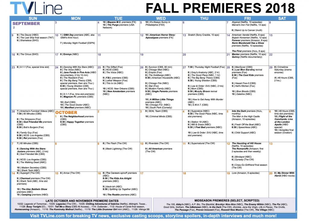 pin carole dickinson on fall tv shows fall tv shows cbs calendar template