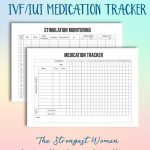Pin On Planners Printable Due Date Calendar With Ivf