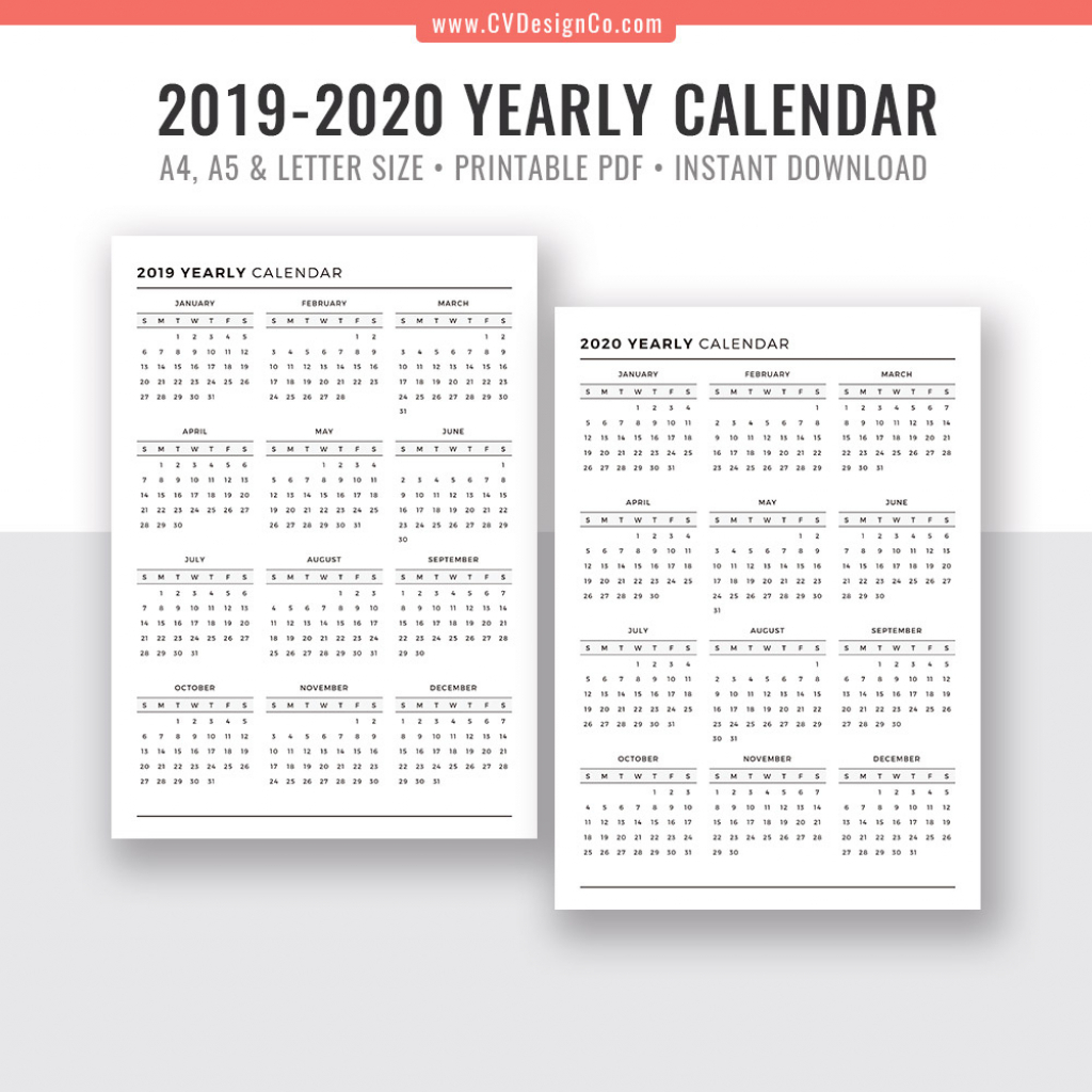 printable 85 x 11 2020 calendar calendar template 2020 8 5 x 11 calendar