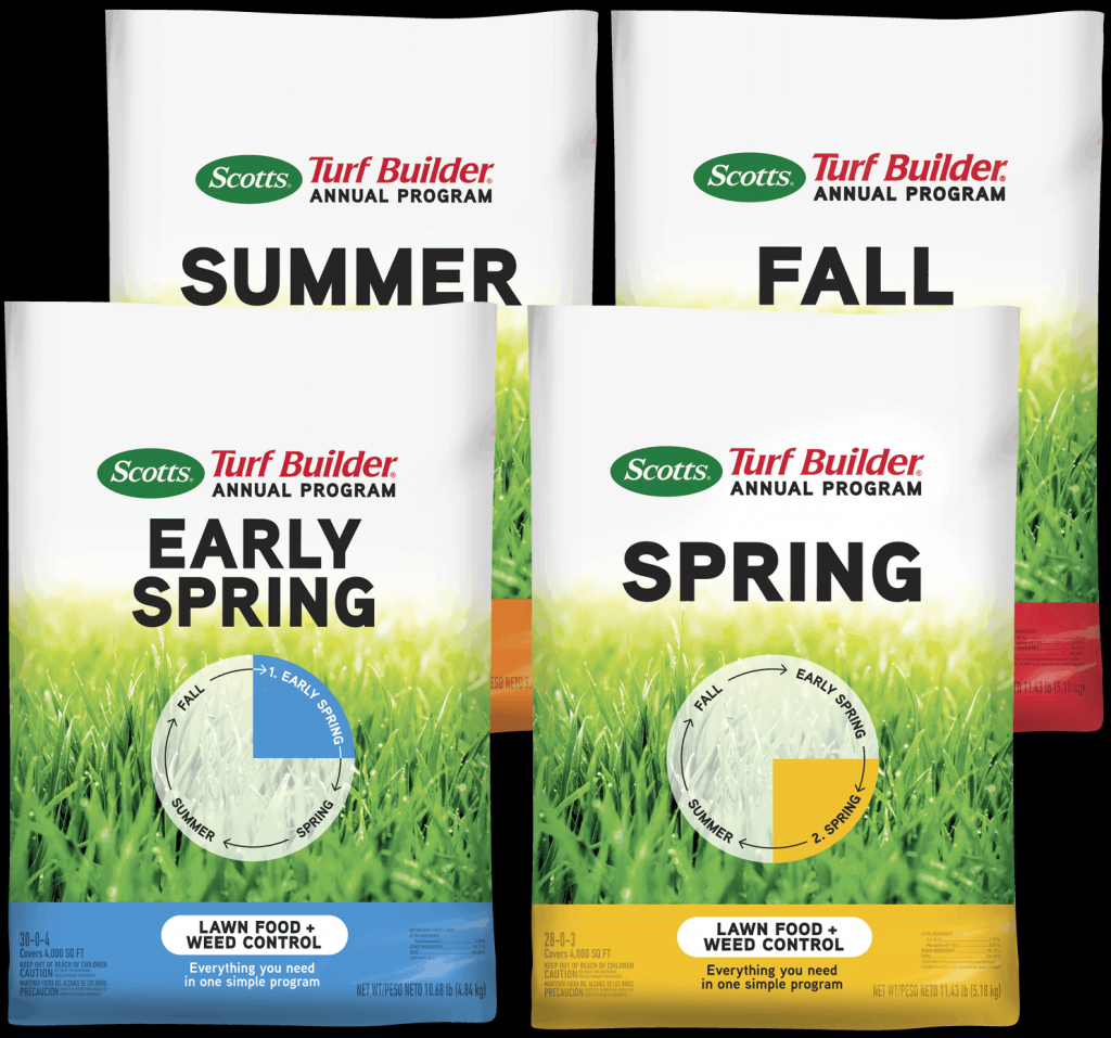 scotts turf builder annual program scott lawn care fertilizer schedule