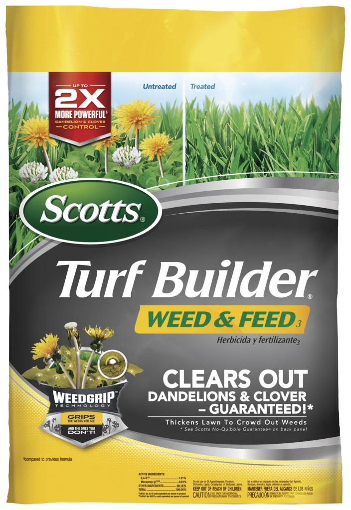 scotts turf builder weed feed scott lawn care fertilizer schedule