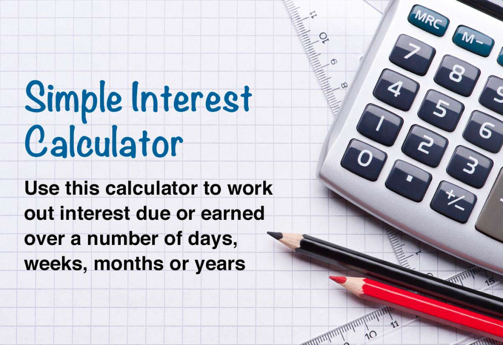 simple interest calculator for days weeks months and years 10000 year calendar calculator