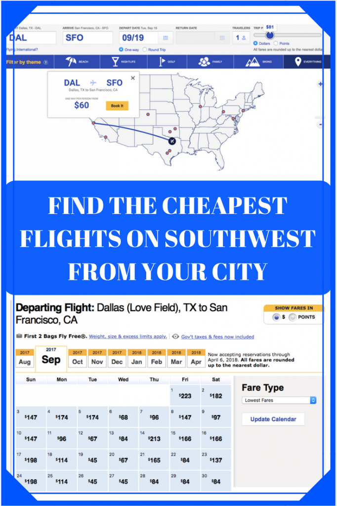 southwest low fare calendar how to find cheap flights on southwest fare calendar
