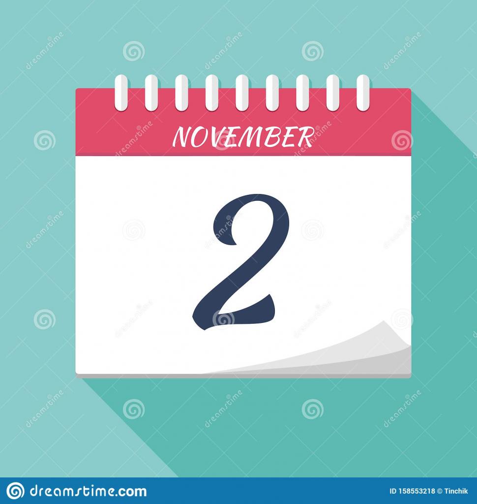 vector illustration calendar icon calendar date november calander date time location agenda