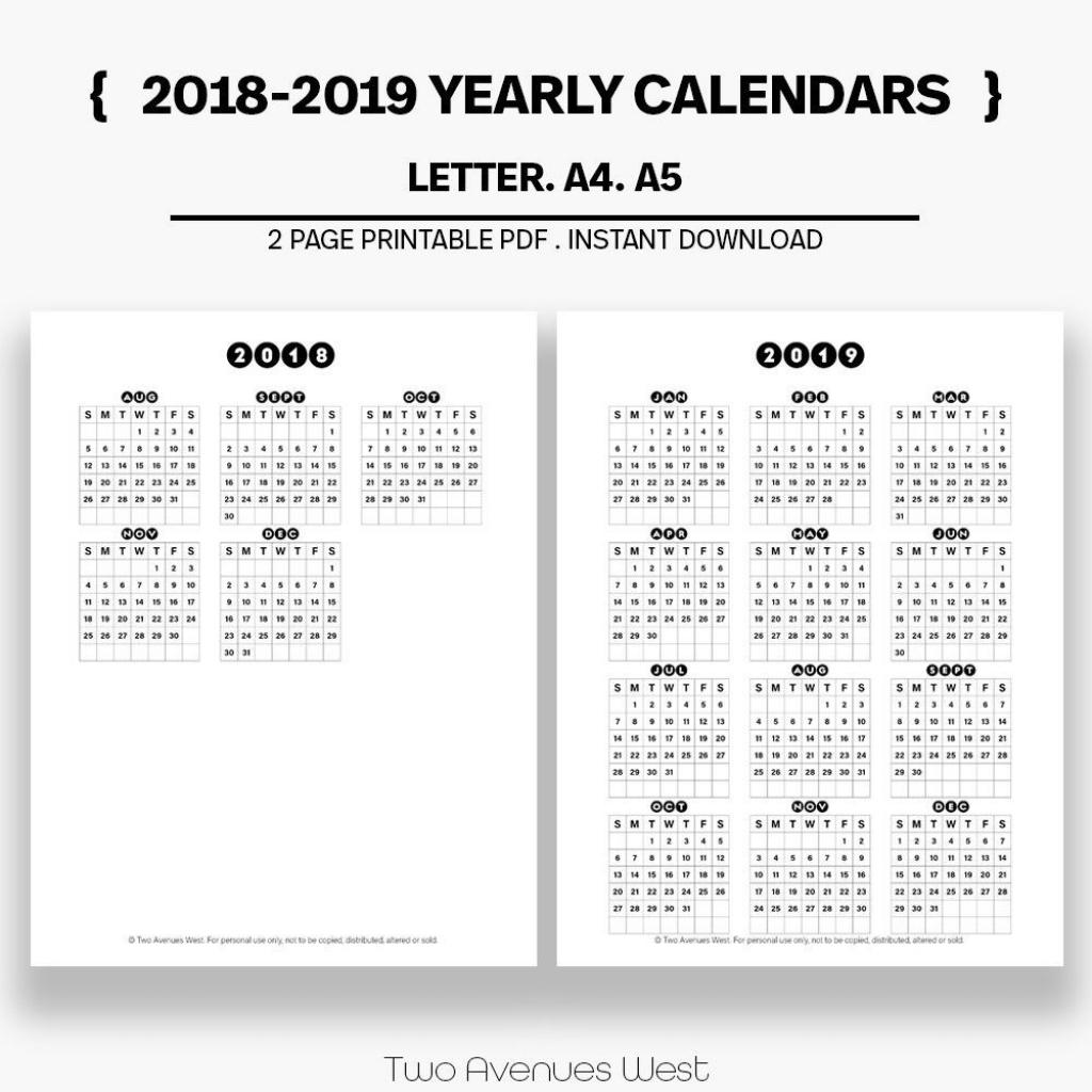 yearly calendar 2018 2019 yearly calendar printable 10 000 year calendar printable