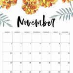 2019 Tomato Timer 8 5×11 Inch November 2020 Calendar Printable