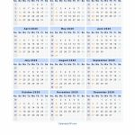2020 Calendar Blank Printable Calendar Template In Pdf Calendar Week At A Glance Template 2020