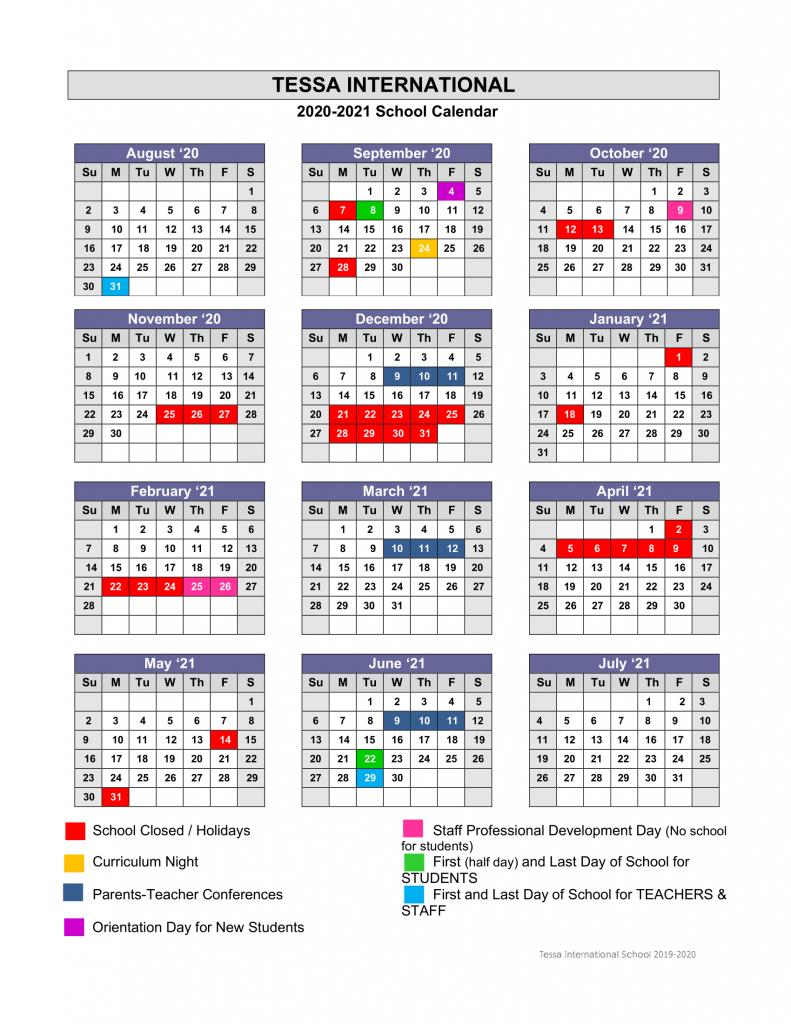academic calendar 2020 2021 tessa international school suny old westbury calendar 2020