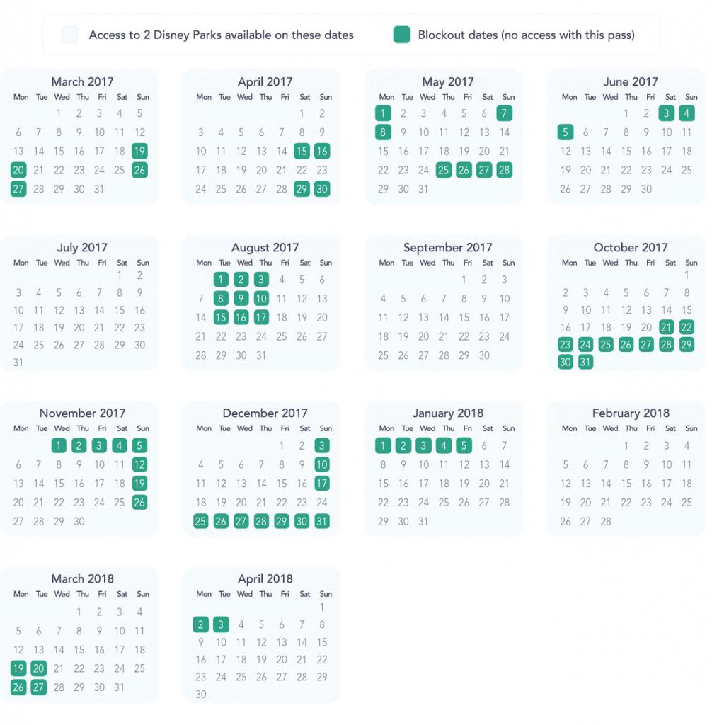 annual pass blockouts dlp guide disneyland paris trip disneyland balck out days
