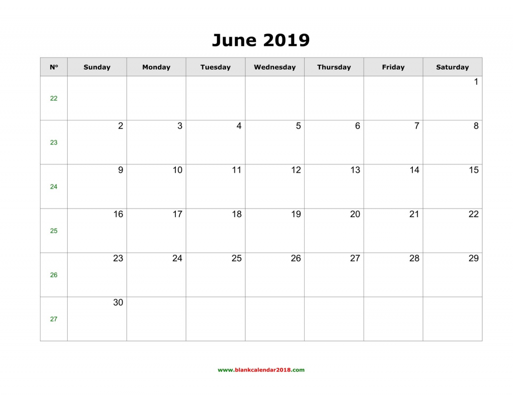 blank calendar june 2019 landscape june 2019 calendar june free printable blank calendar full page