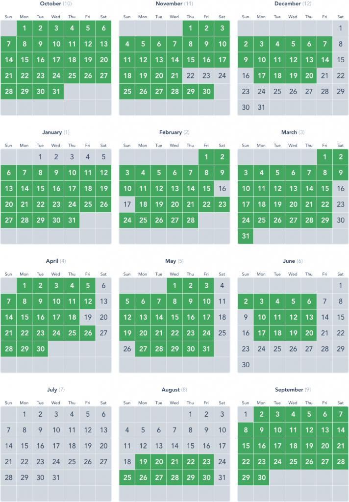 blockout dates disneyland disneyland balck out days