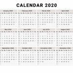 Calendar 2020 Free Printable Calendar 2020 Free 2020 Microsoft Works Calendar 2020