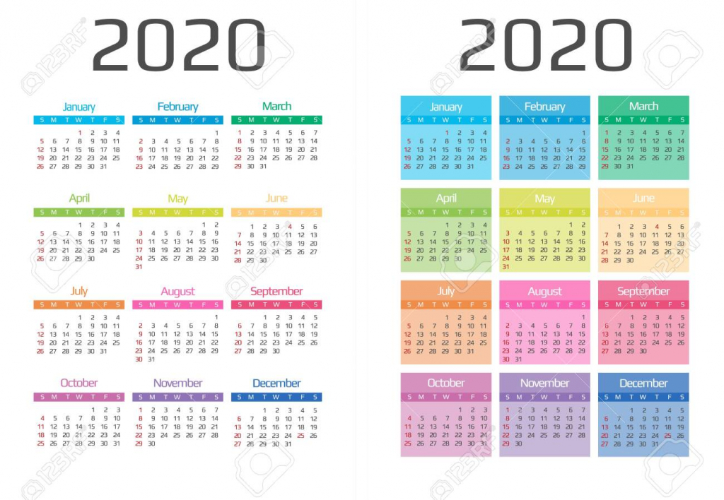 calendar 2020 template 12 months include holiday event week 6 week holiday calendar